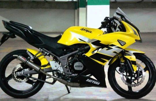 Cara Mudah Setting Ulang Oli Samping Kawasaki Ninja R 150